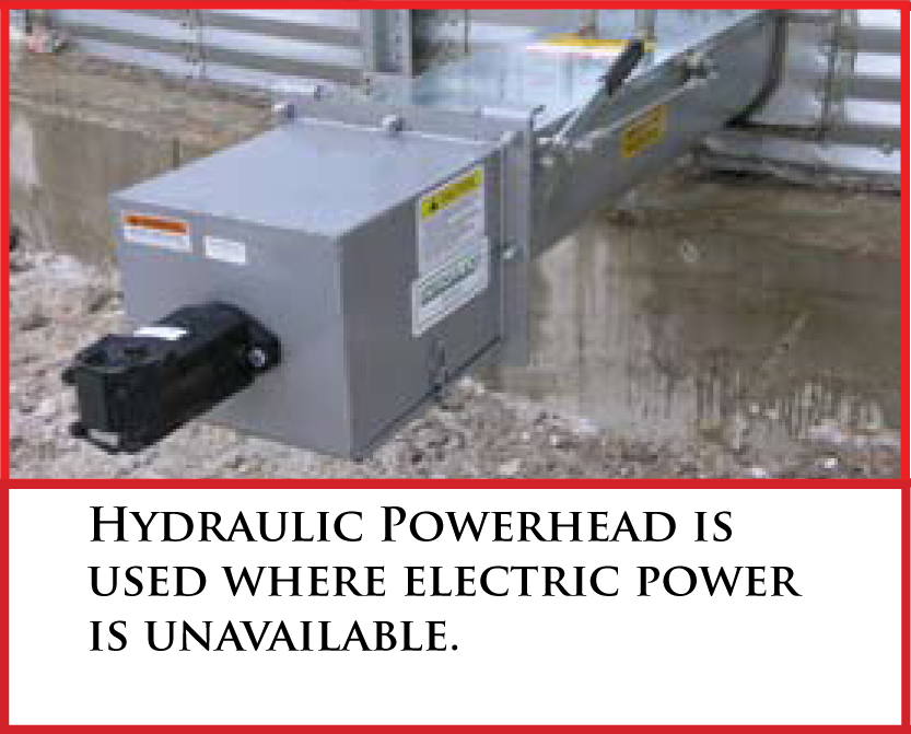 hydraulic powerhead